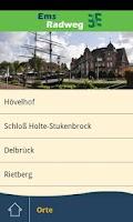 Screenshot of EmsRadweg