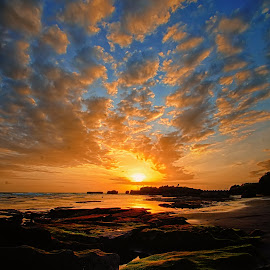 Mengening Beach by Rizki Mahendra - Landscapes Sunsets & Sunrises