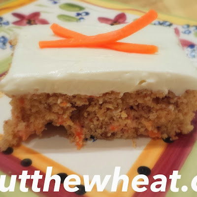 Decadent Carrot Cake with Cream Cheese Icing