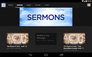 Screenshot of Park Cities Baptist Church