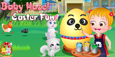 Screenshot of Baby Hazel Easter Fun