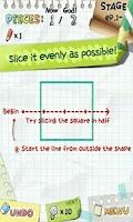 Screenshot of Slice It!