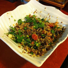 Mark Bittman's Qunioa Salad With Tempeh