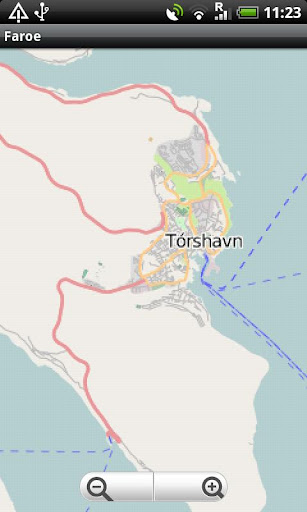 Faroe Islands Street Map