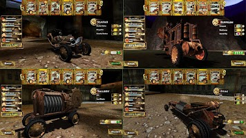 Screenshot of Steampunk Racing 3D