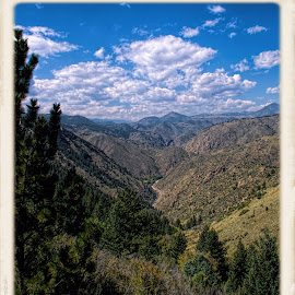 clear creek canyon, colorado by Jim Knoch - Landscapes Mountains & Hills