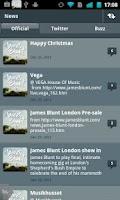 Screenshot of James Blunt