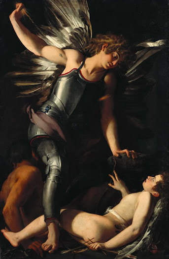 Baglione Giovanni, L'eros divino batte l'eros terrestre