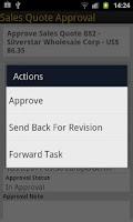 Screenshot of SAP Business ByDesign