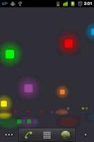 Screenshot of Pixel Rain Live Wallpaper