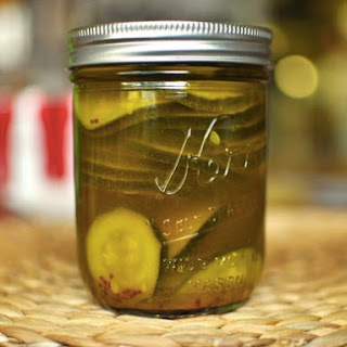 Curried Pickled Zucchini