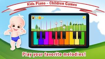 Screenshot of Baby Piano