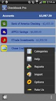 Screenshot of Checkbook Pro
