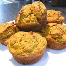 Wheat-Free, Low-Carb Pumpkin Muffins