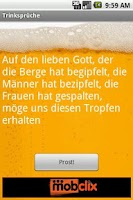 Screenshot of GERMAN Drinking Toasts