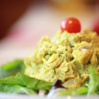 Curried Chicken Salad With Greek Yogurt