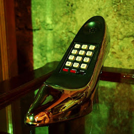 Shoe? Phone? by Edwyn Kim - Artistic Objects Clothing & Accessories