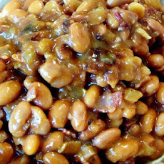 Spicy Maple Baked Beans