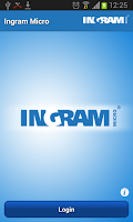 Screenshot of Ingram Micro Mobile