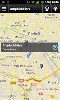 Screenshot of UnivMobile
