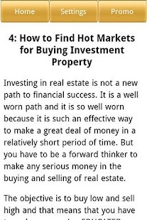 Real Estate Investment Secrets - screenshot