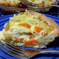 Chicken Vegetable Quiche
