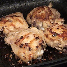 Shaker Style Grilled Chicken Thighs