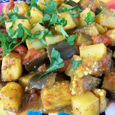 Eggplant and Potato Curry