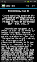 Screenshot of Super NWT Bible