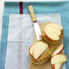 Peanut-Butter Apple Muffin
