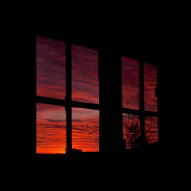 08.14 am by Vagelis Grigoropoulos - Artistic Objects Furniture ( sky, dawn, window,  )