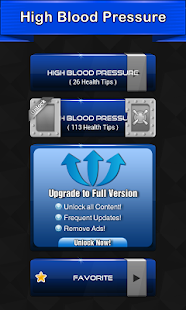 High Blood Pressure Symptoms screenshot for Android