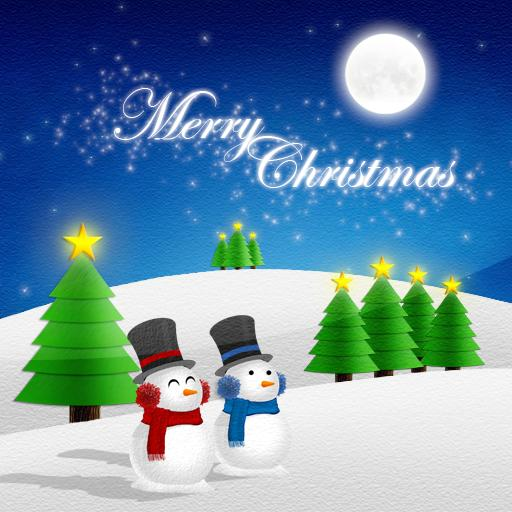 Christmas Card Live Wallpaper 個人化 App LOGO-APP試玩