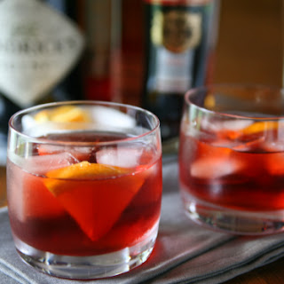 Classic Negroni Cocktail  (Version 1)