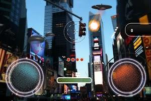Screenshot of AR Invaders
