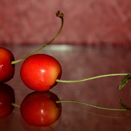 Cherries!! by Ayushi Singhania - Food & Drink Fruits & Vegetables