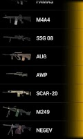 Screenshot of CS: Global Offensive Guns