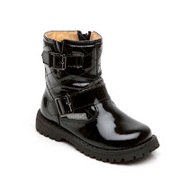 Step2wo Mini Cage - Patent Buckle Boot BOOTS