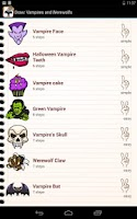Screenshot of Draw Vampires and Werewolf