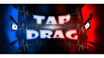Screenshot of Tap & Drag: Two player game