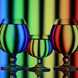 Hues of Spectrum by Rakesh Syal - Artistic Objects Glass