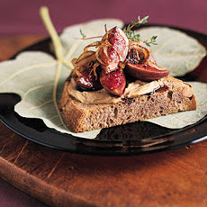 Fig and Pate Bruschetta