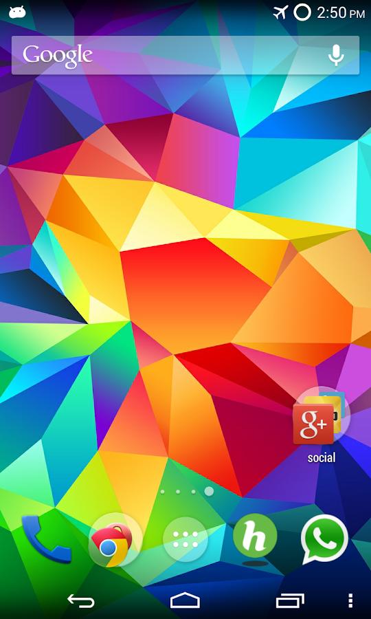 Galaxy S5 Wallpapers – Screenshot