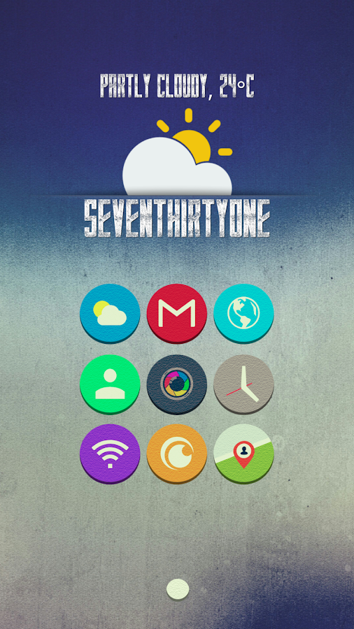 Atran - Icon Pack Screenshot 1