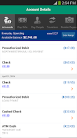 Screenshot of Charter One Mobile Banking