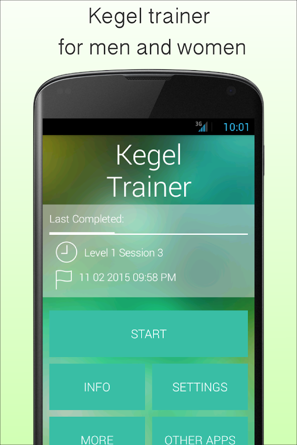 Kegel Trainer - Exercises Screenshot 0