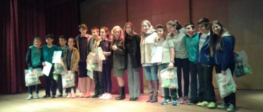 """Ceremonia de entrega de certificados del Proyecto """"MI HISTORIA FAMILIAR"""""""