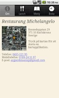 Screenshot of Restaurang Michelangelo