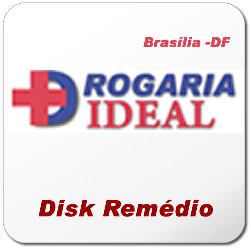 DROGARIA IDEAL -  DISK REMÉDIO LOGO-APP點子