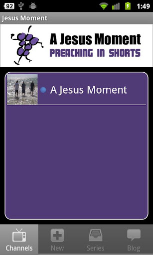 A Jesus Moment